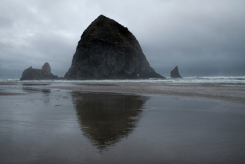 Haystack Rock, Cannon Beach, OR.
